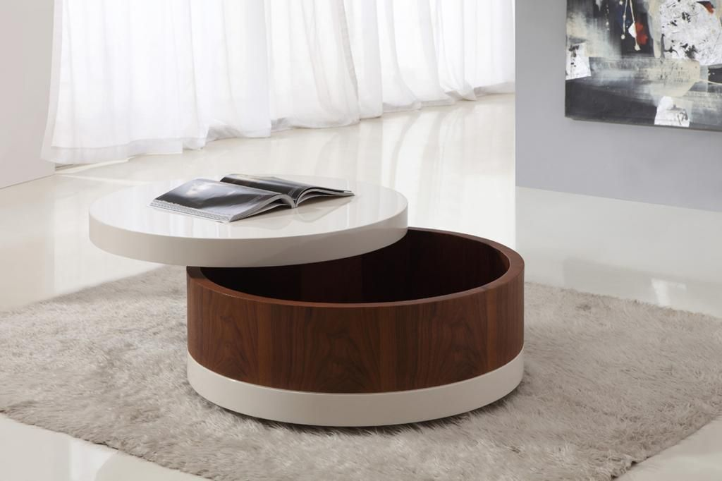 Bust of Awesome Round Coffee Tables with Storage | Furniture ...