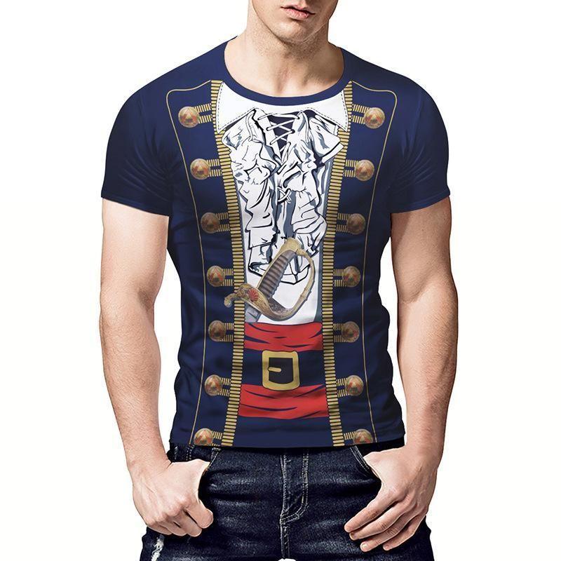 Large size mens short sleeve loose tshirt voguebest
