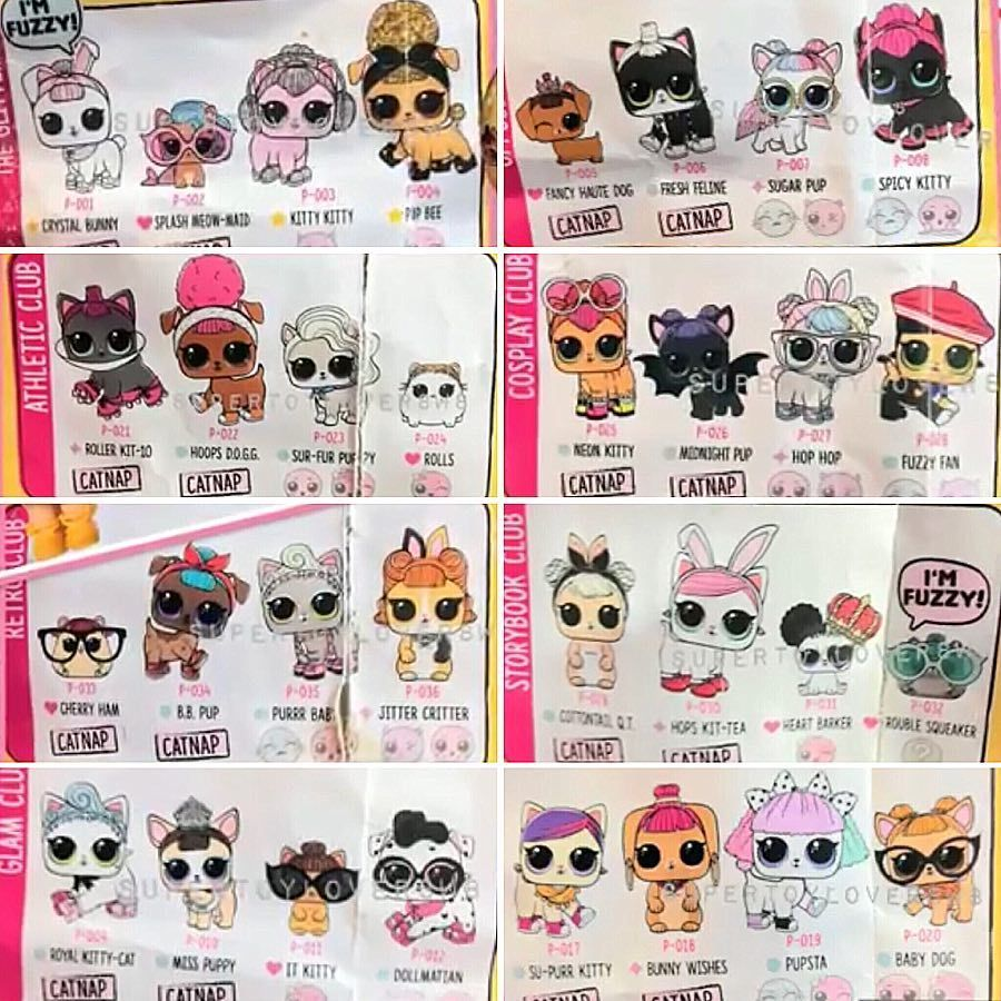 Omg Look At All This Cuteness The Lol Pets Series 3 Wave 2 Checklist Has Just Surfaced On Funmiyaemmis Youtube Channel Give The Lol Dolls Baby Dolls Lol