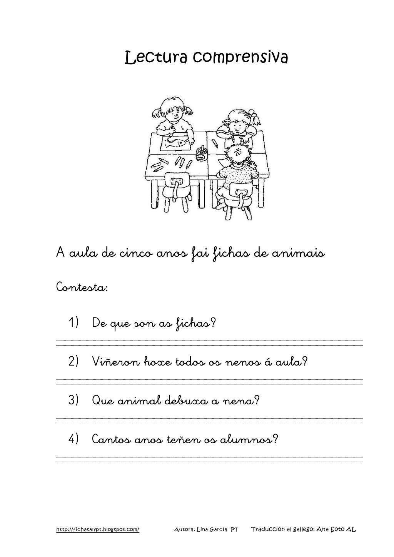 Lecturas comprensivas 1 4 gallego by nomenterodelapataca via ...