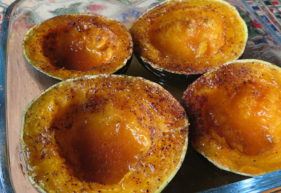 Maple Butter Baked Squash Baked Squash Baked Dishes Maple Butter