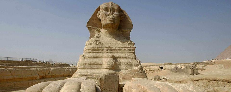 L'étonnant secret d'un sphinx