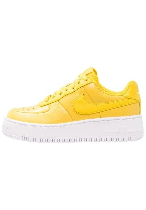 new arrival c331d 30676 Yellow Nike shoes  nike  yellow Air Force Women, Air Force 1, Nike