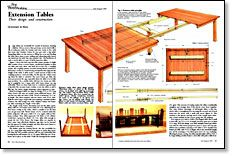 How To Make Your Own Extension Slides For A DIY Expanding Table Like The Goliath