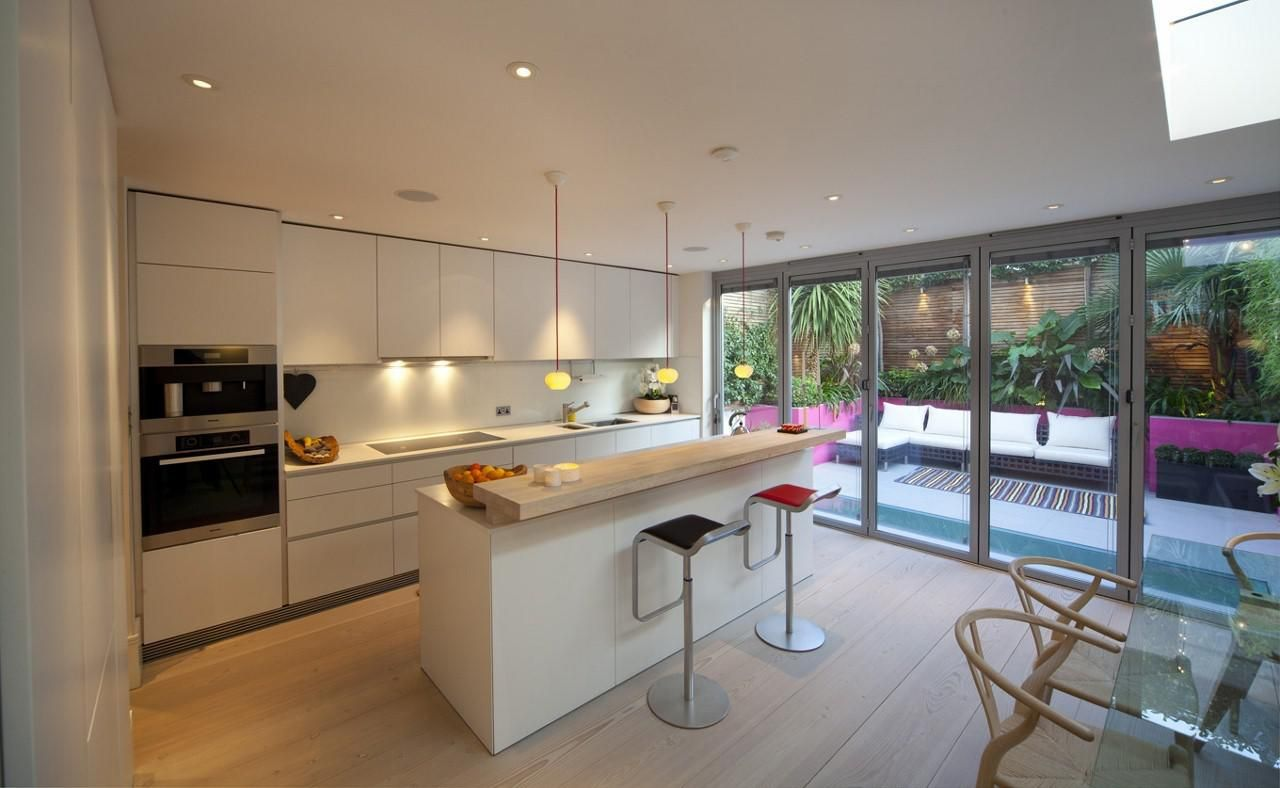 Open Plan Kitchen Living Room Layout Design House Extensions