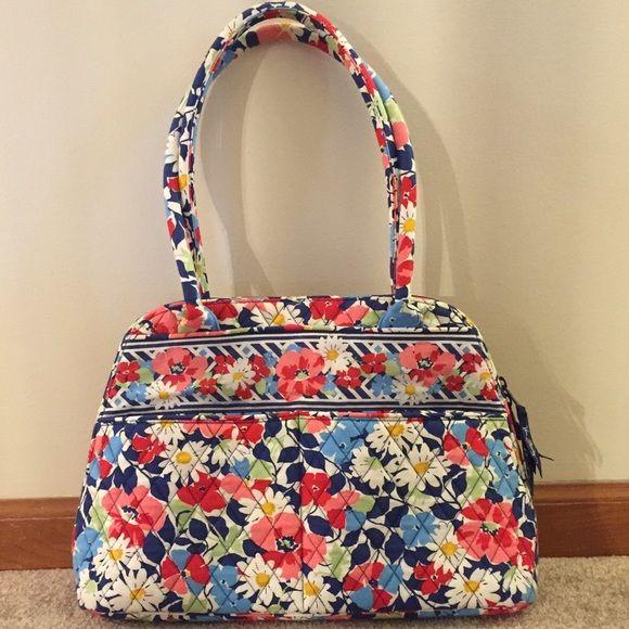 Vera Bradley Bowler Bag Summer Cottage Great Condition