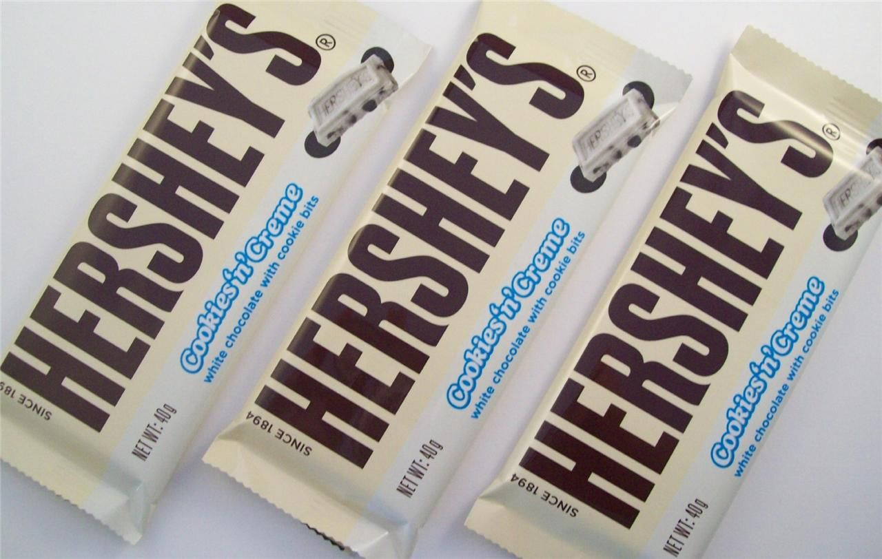 Oreo And Hershey Bar Google Search White Chocolate Bar