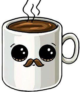 Coffee Art Kawaii Drawings Cute Drawings A Kawaii Art