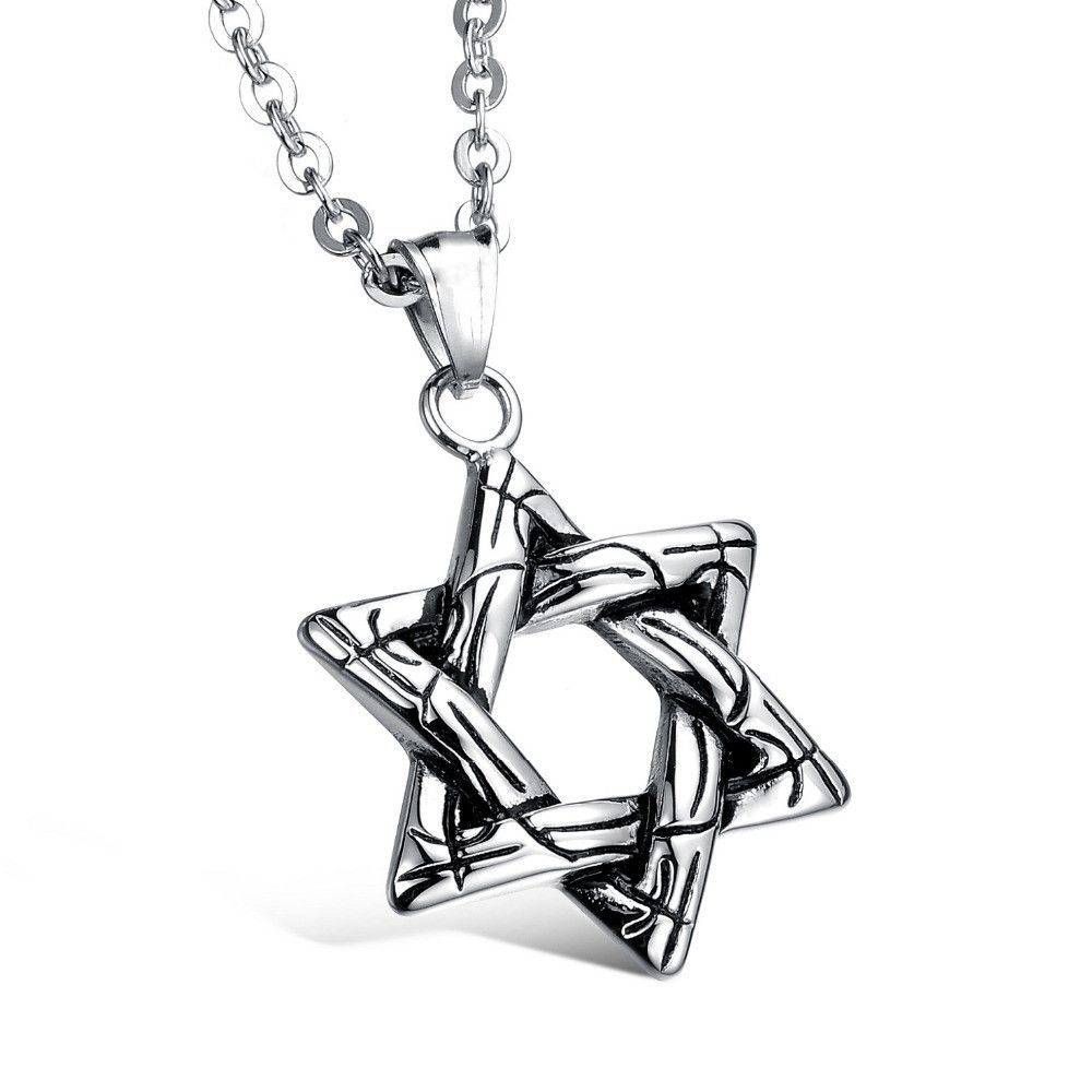 Hollow star stainless steel pendant necklace products pinterest