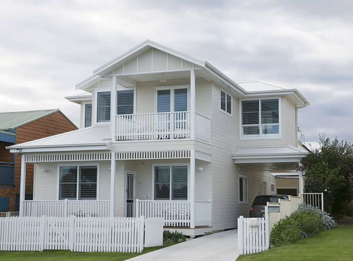 Image Result For Dulux Natural White Exterior House