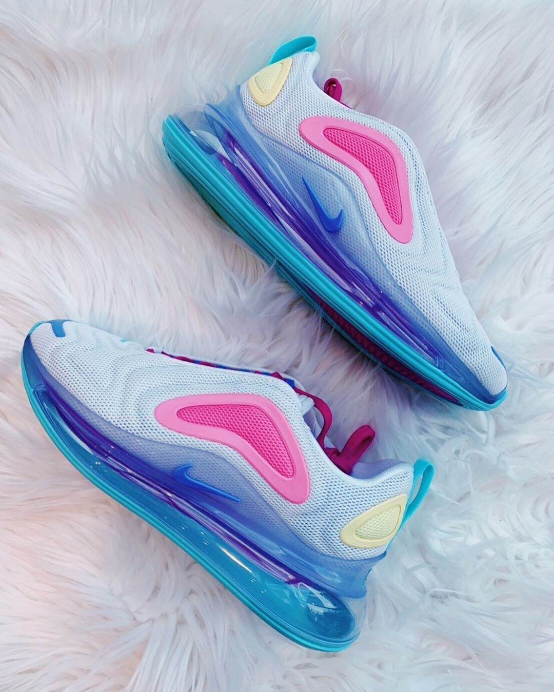 The Air Max 720 Featuring Pop Colorways Like Cotton Candy Is For