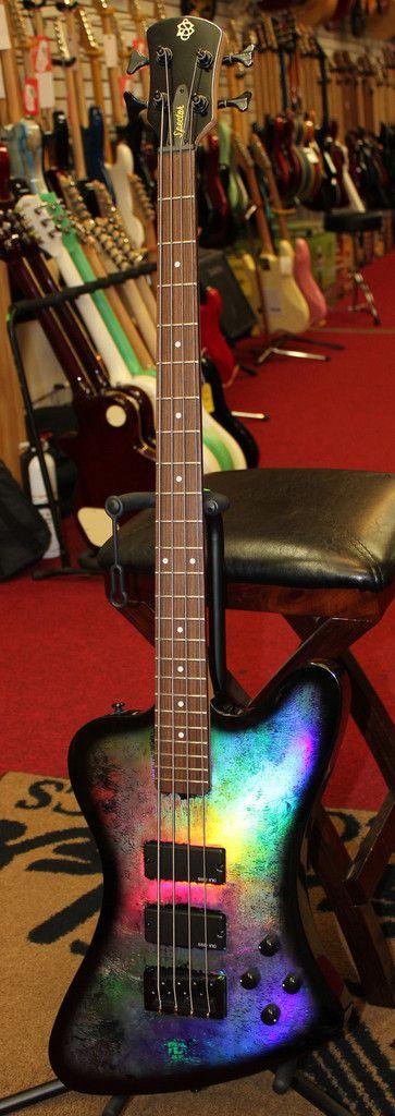 Spector Legend 4X Classic Electric Bass Guitar Holoflash