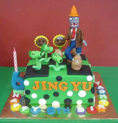 Plants Vs Zombies Cake Lol Nolan Would Love This