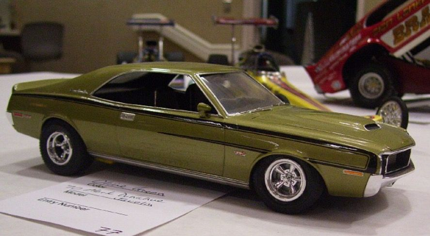 70 Amx Javelin Model Cars Kits Plastic Model Cars Diecast Trucks
