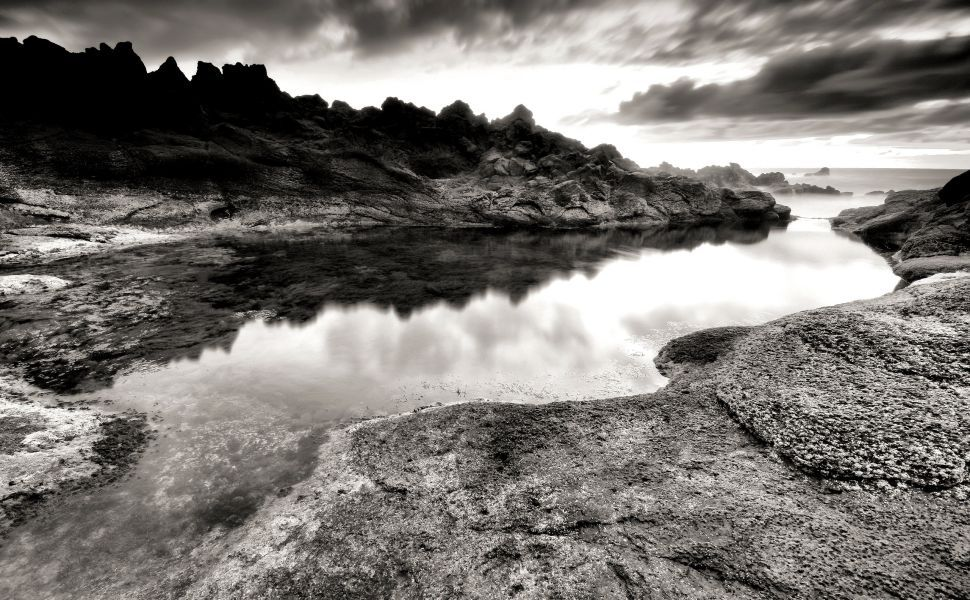 Black And White scenery HD Wallpaper Black and white