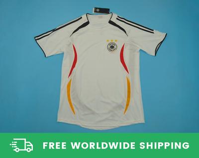 Germany 2006 World Cup Jersey Trikot Shirt Ballack Klose Lahm Podolski Size S Xl Ebay In 2020 World Cup Jerseys Soccer Shirts Shirts
