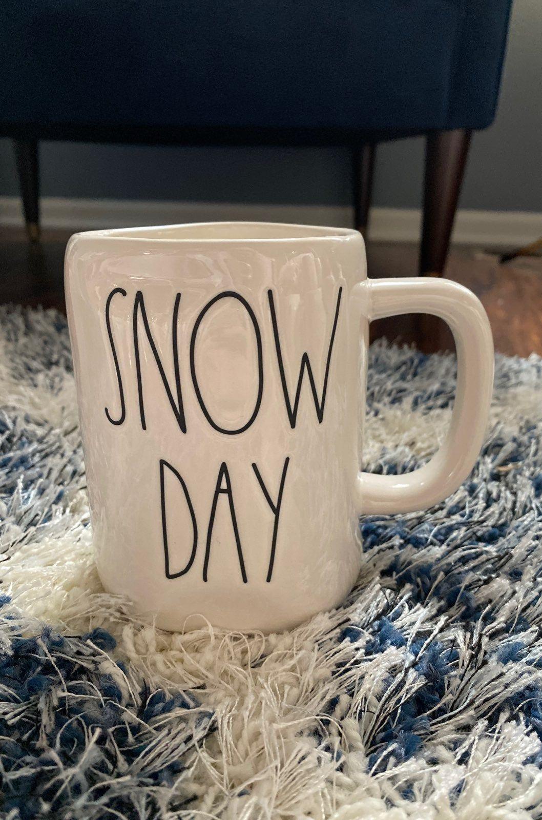 Brand new Rae Dunn snow day mug. Comes from a smoke free