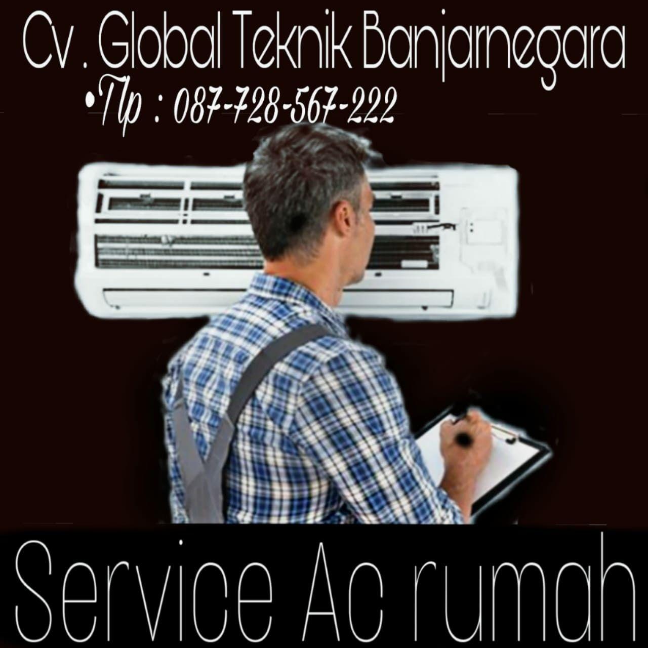 Service Ac Rumah Banjarnegara 087 728 567 222 Cv Global Teknik