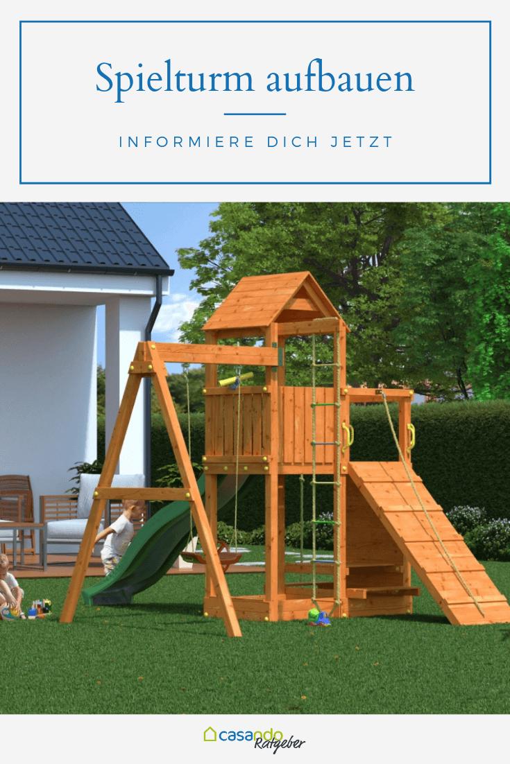 Den Spielturm Sicher Aufbauen Casando Ratgeber Spielturm Spielgerate Fur Den Garten Spielturm Garten