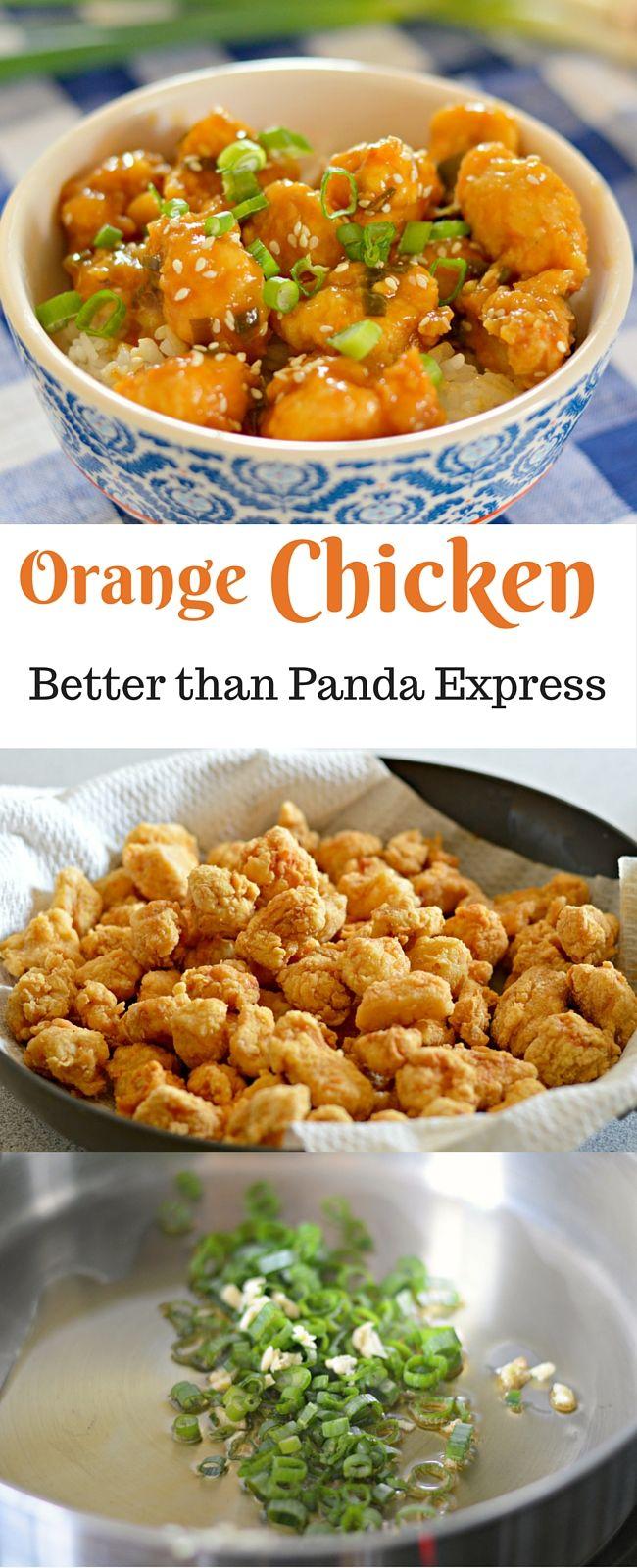Orange chicken better than panda express recipe orange chicken orange chicken better than panda express forumfinder Choice Image