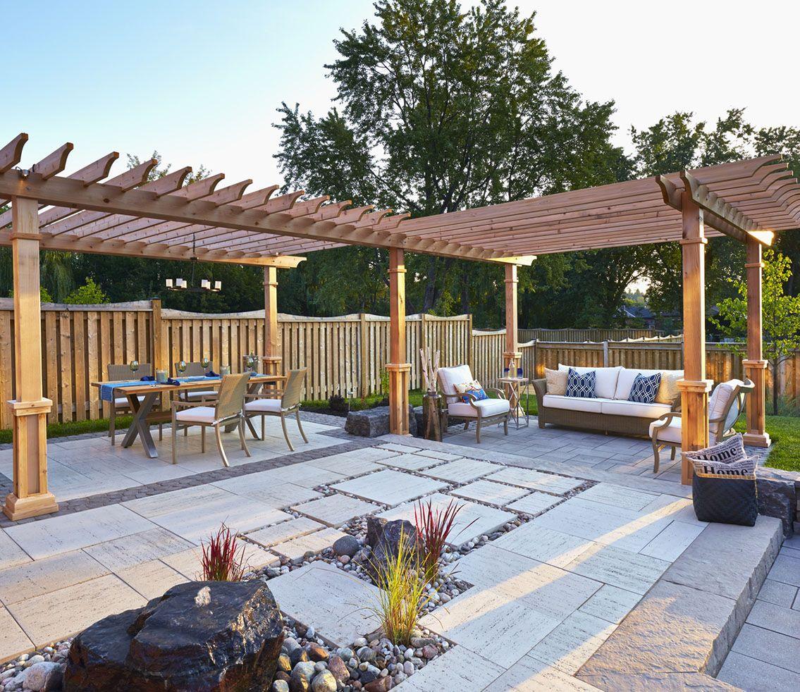 techo bloc pavers design ideas for patios boston pinterest
