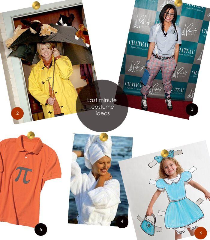 last minute costumes Last Minute Costumes Halloween Pinterest - last min halloween costume ideas