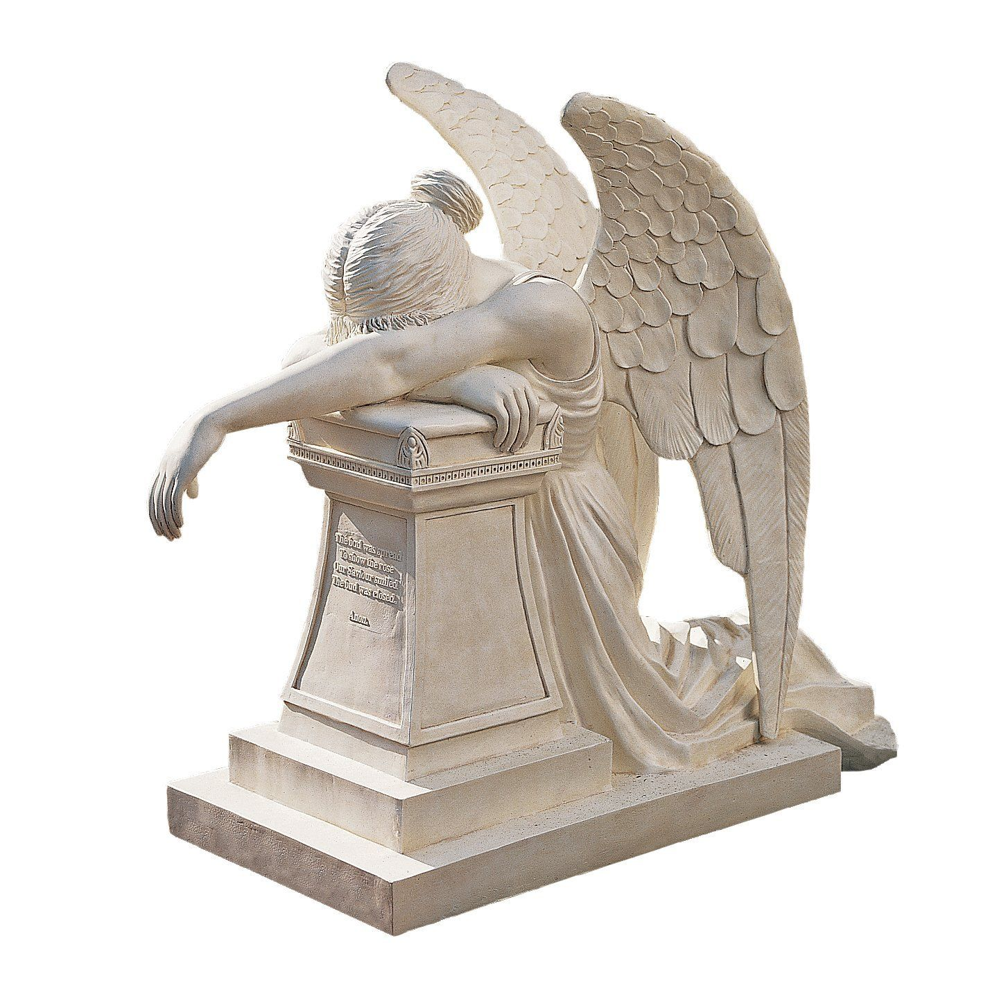 Amazon.com : Design Toscano Angel of Grief Monument Statue