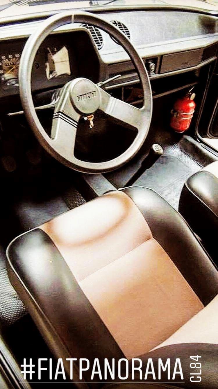 Fiat Panorama Cl 1984 Carro Brasileiros Coisas Simples Da Vida