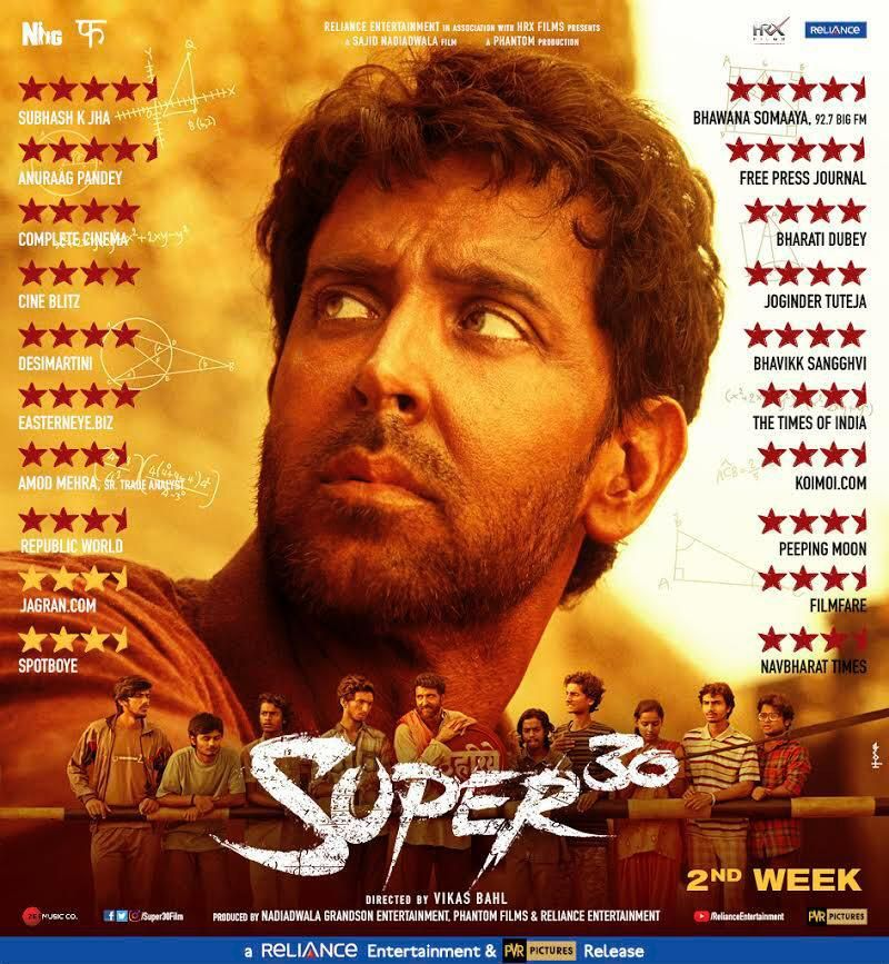 Hrithik Roshan film Super 30 review #HrithikRoshan # ...
