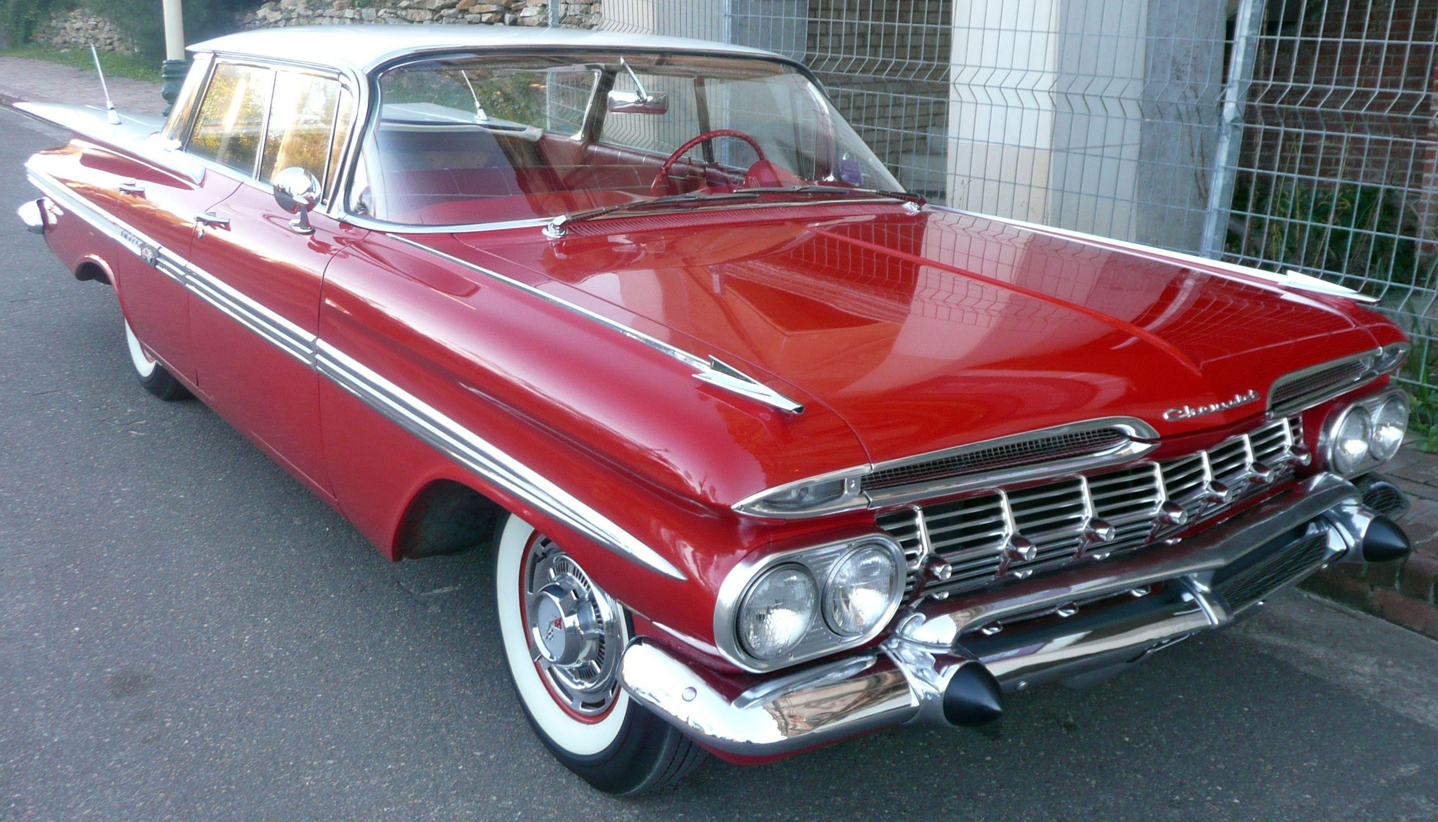 1959 Impala 4 Door Hardtop Chevrolet Impala Car Chevrolet 1960 Chevy Impala