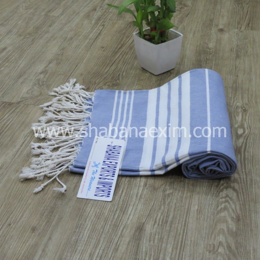 Wholesale Cotton Stripes Pestemal Bulk Turkish Towels Kikoy Fouta