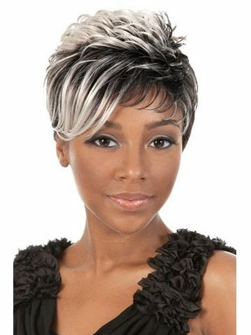 Sensational Hot Sale Pixie Cut Style Synthetic Wigs Free Shipping Short Wavy Hairstyles For Women Draintrainus