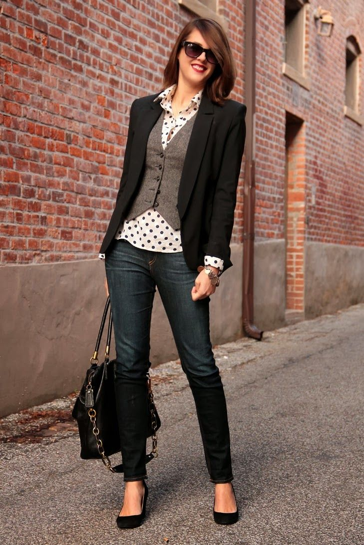 The Gallivanting Girl Blog: I'd Wear That: Business Casual Cute ...