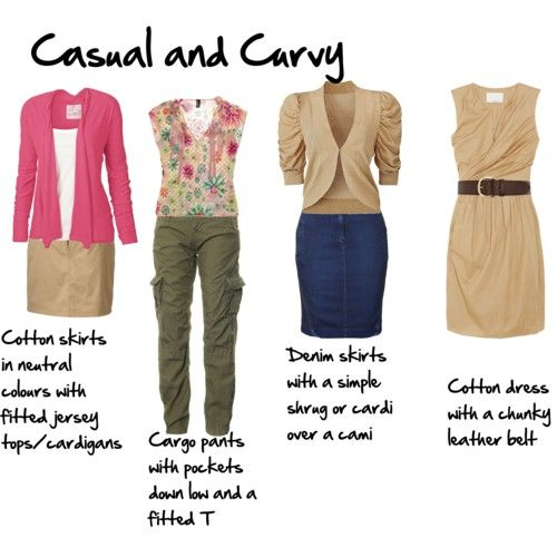 Casual Looks For The Curvy Body See More Ideas About
