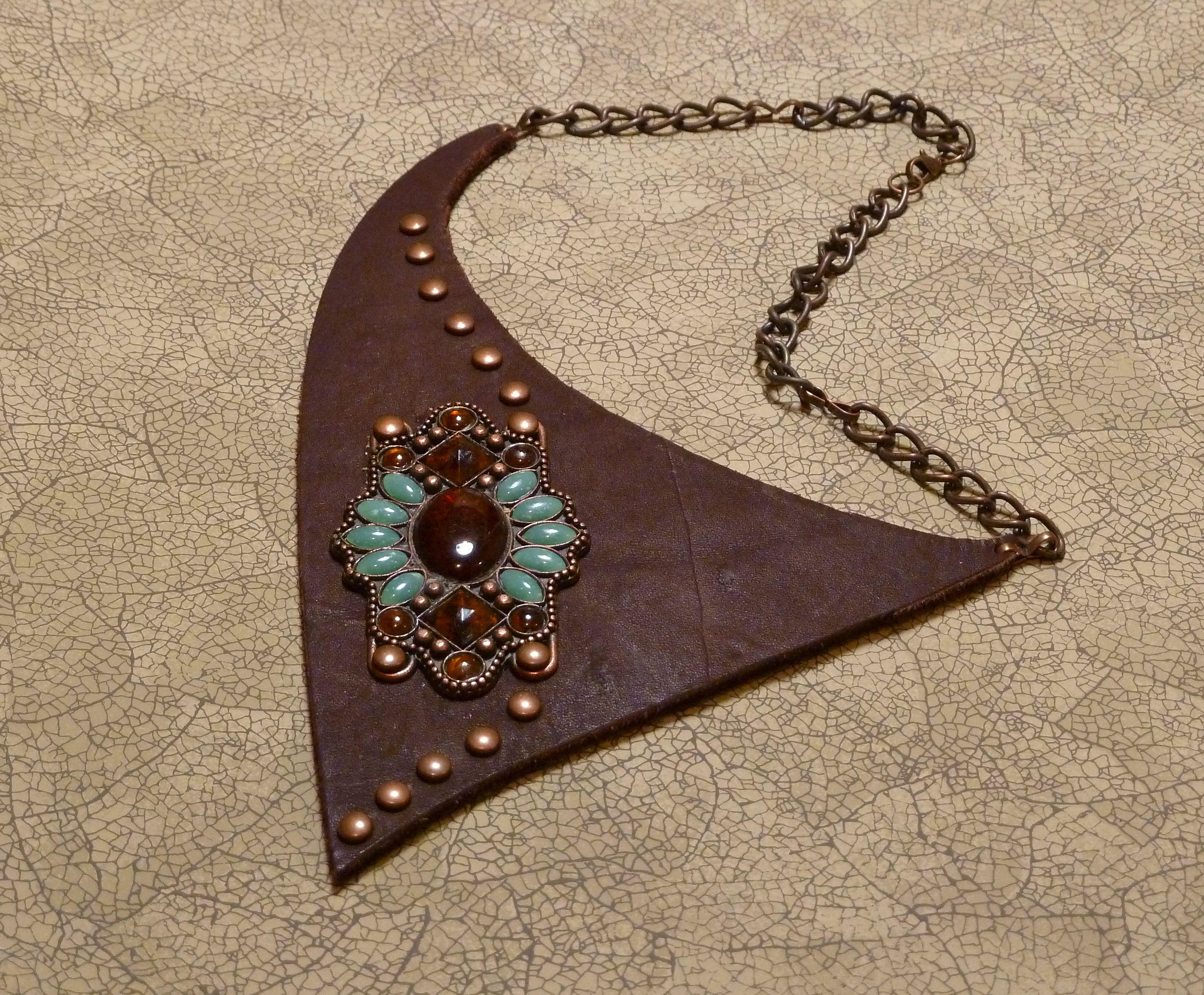 Leather scraps for crafts - Leather Craft Ideas Rl Scrap Leather Metal Belt Segment Brads Craft