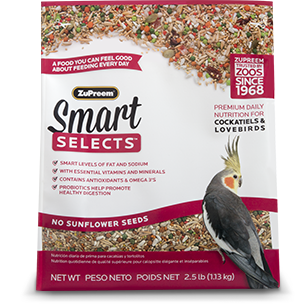 Smart Selects for Cockatiels and Lovebirds Love birds