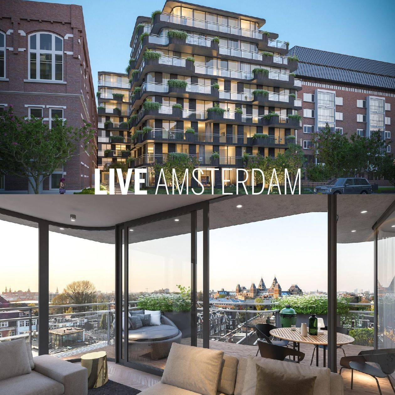 LIVE AMSTERDAM - Hurry up! Only a few luxury apartments ...