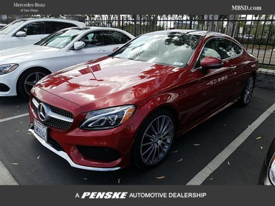 Coupe, 2017 MercedesBenz C 300 Coupe with 2 Door in San