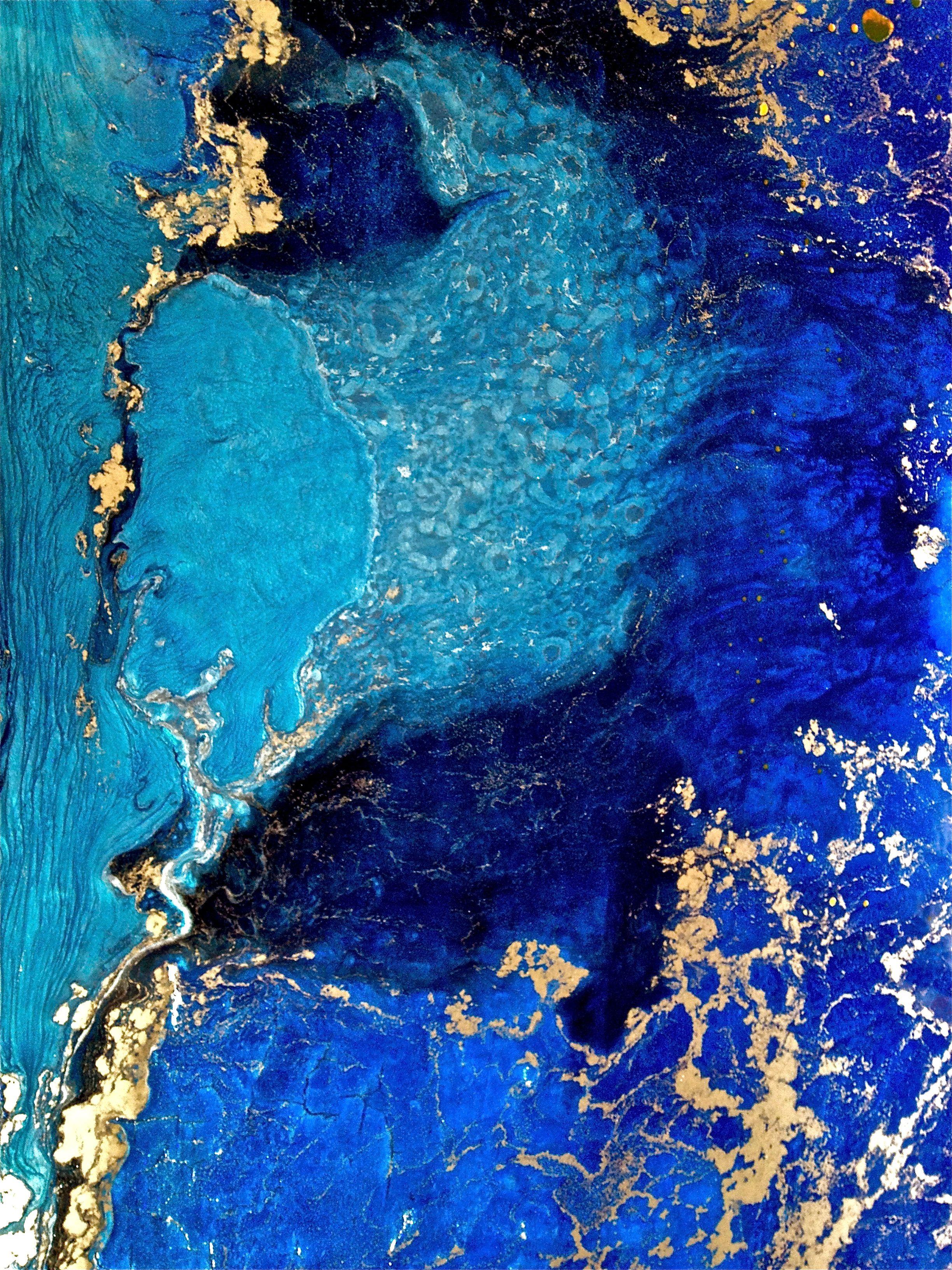 Floors Like Paintings Floor Detail Mino Longo Resin