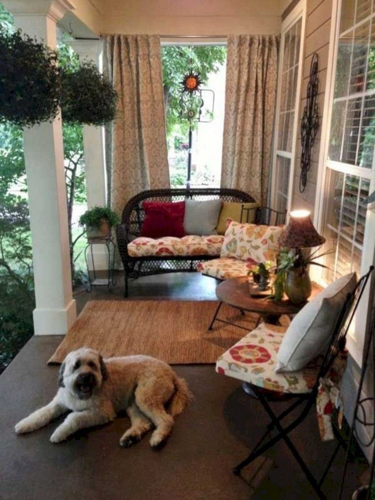 40 Incredible Small Porch Decor Ideas To Try #smallporchdecorating