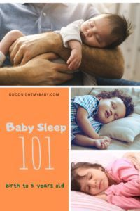 Baby Sleep 101: Birth to 5 years old   Goodnight My Baby #Parenting #Family #BabySleep