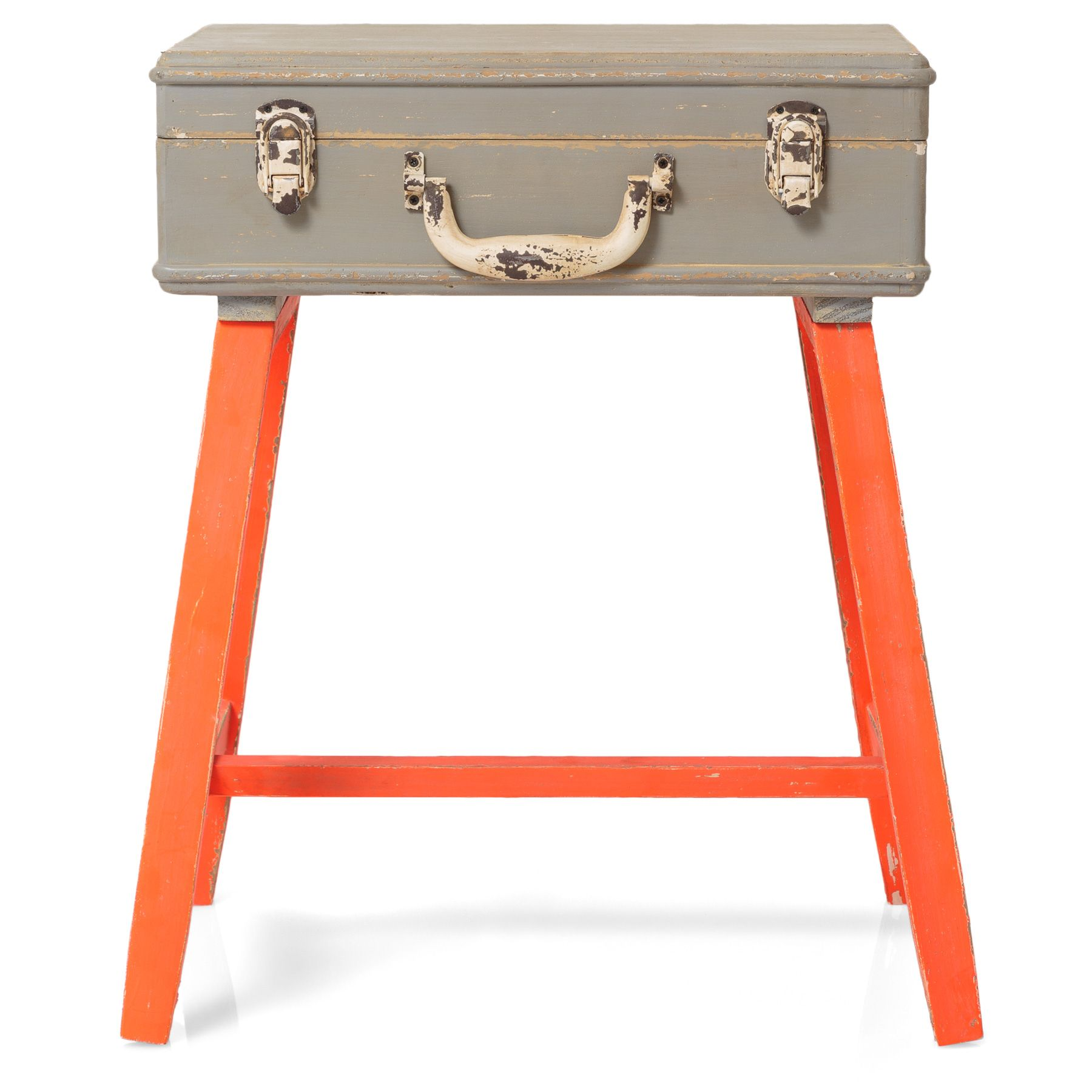 Buy The Orange Suitcase Side Table At Oliver Bonas. We Deliver Furniture  Throughout The UK