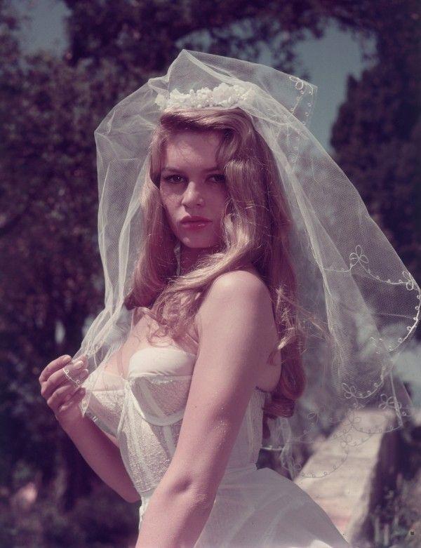 Brigitte Bardots Wedding Veil