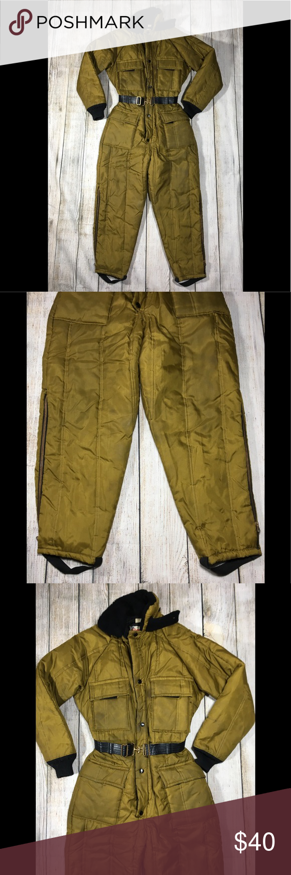 vtg walls blizzard pruf insulated snowsuit y m 14 vtg on walls insulated coveralls for women id=85149