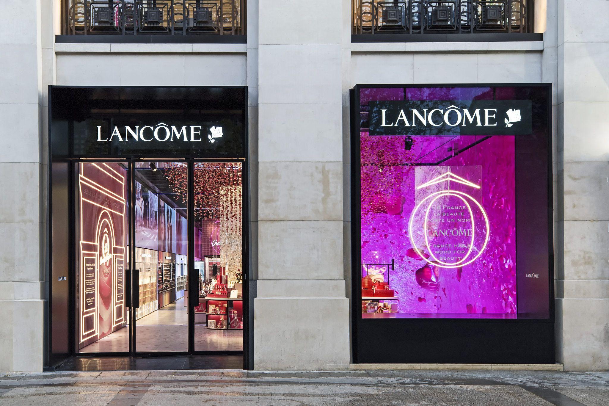 Lancôme opens flagship store on ChampsElysées in Paris en