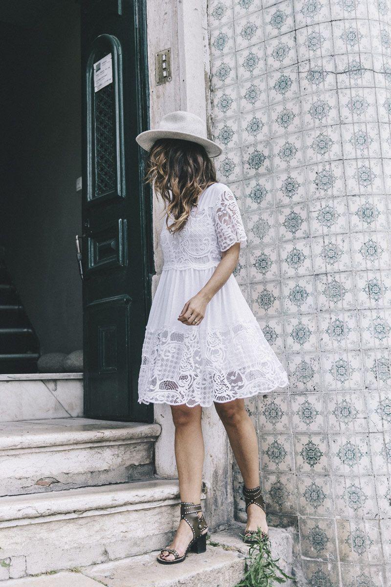 a0232c2d5 Un vestido blanco (súper) romántico