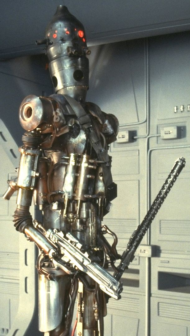 Just a robot jackin his big robot dick my style - Robot blanc star wars ...