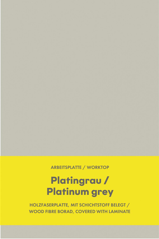 Kuchen Arbeitsplatte Platingrau Kitchen Worktop Platinum Grey In 2020 Arbeitsplatte Nolte Kuche Schlicht
