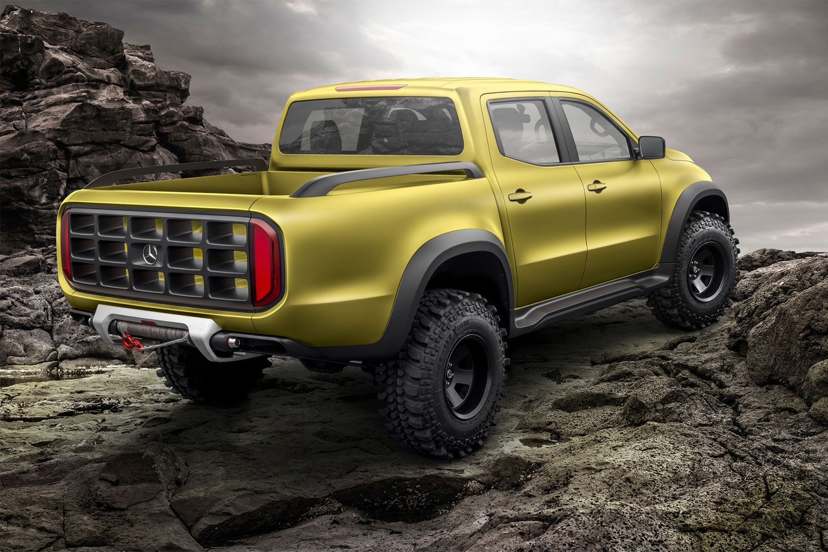 Mercedes Benz Unveils Its X Class Concept With Images Pickup