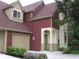 Image Result For Red Houses With Brown Roof